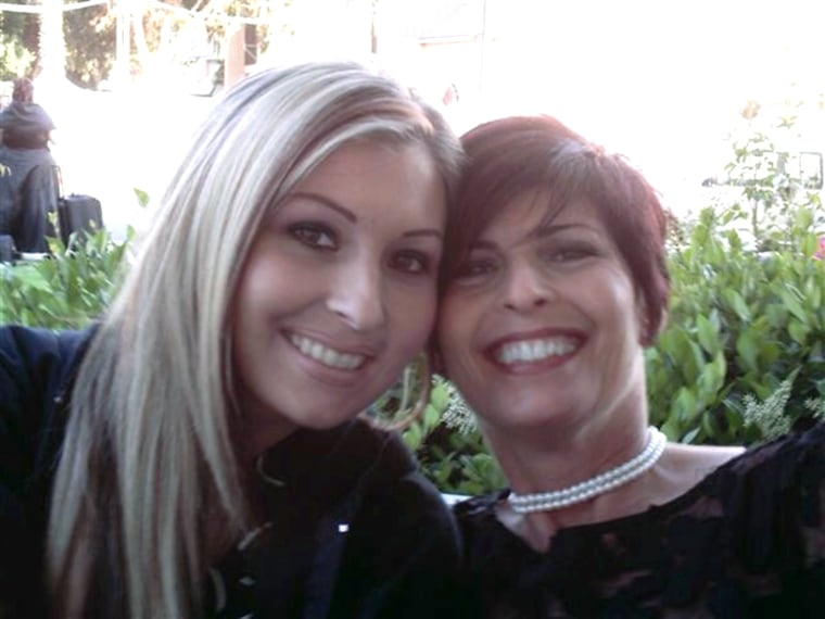 """Lisa Mason's mother, Darnelle, right, tells TODAY.com that the debt leads to sleepless nights. \""""The burden is quite heavy,\"""" she tells TODAY.com. \""""You ..."""