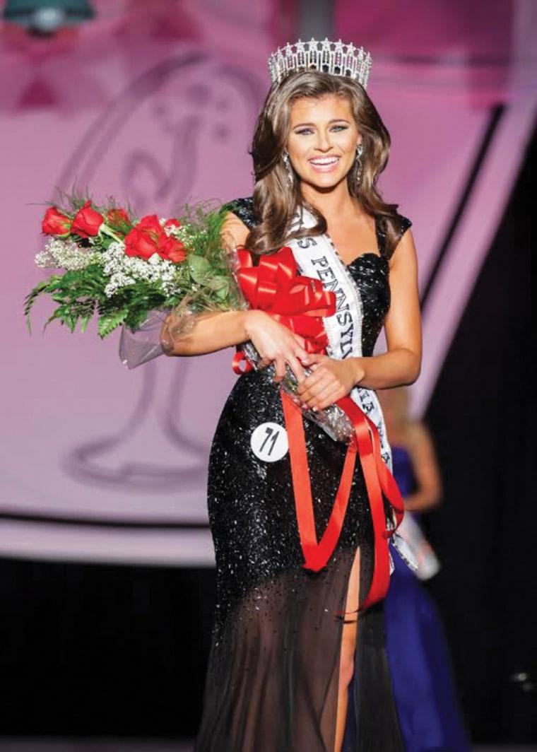 Miss Pennsylvania Valerie Gatto