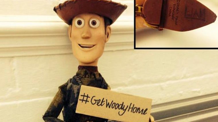Image: Woody doll