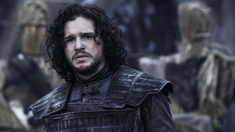 """Image: Kit Harington on """"Game of Thrones,"""" season four."""