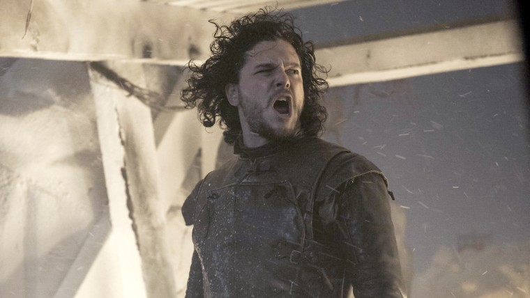 "Image: Kit Harington as Jon Snow on ""Game of Thrones,"" season 4."