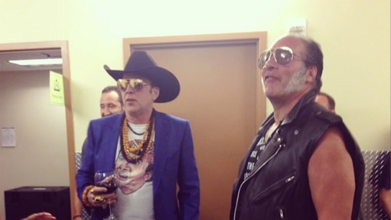 Image: Nicolas Cage and Andrew Dice Clay
