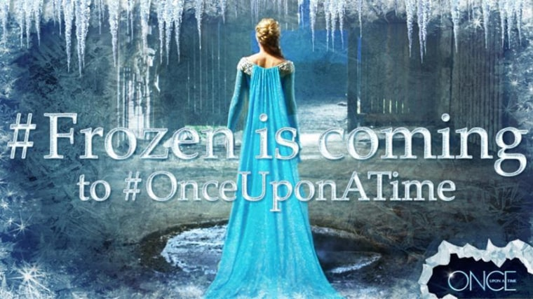 "IMAGE: Elsa from ""Frozen"" on ""Once Upon a Time"""
