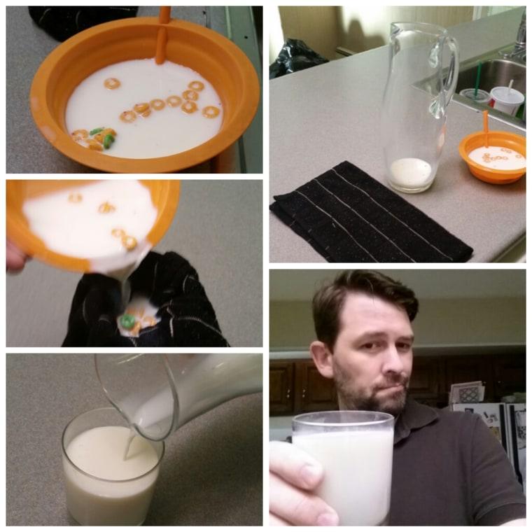Ron Mattocks' Sugar Milk Dad Hack.