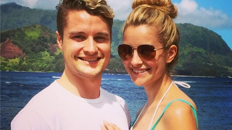 Charlie White took to Instagram to announce his engagement