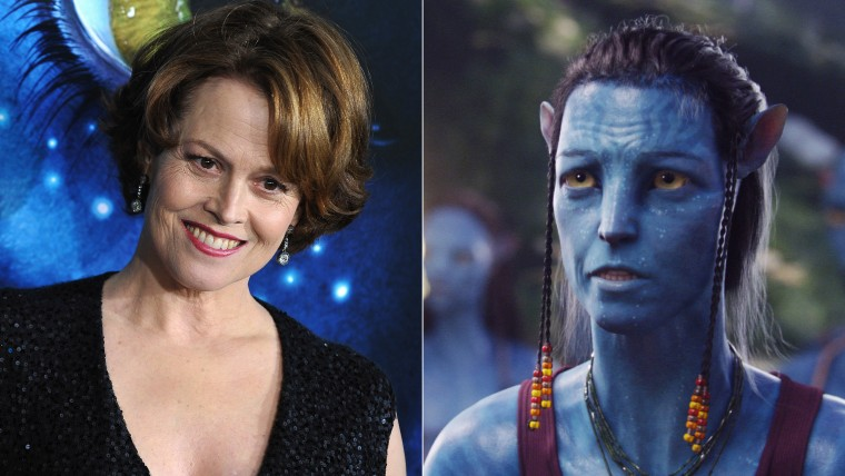 """Sigourney Weaver, and in """"Avatar"""""""