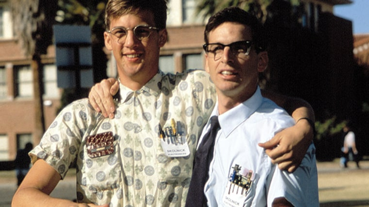 """Revenge of the nerds: Kids who engaged in less """"cool"""" behavior were better adjusted in early adulthood."""