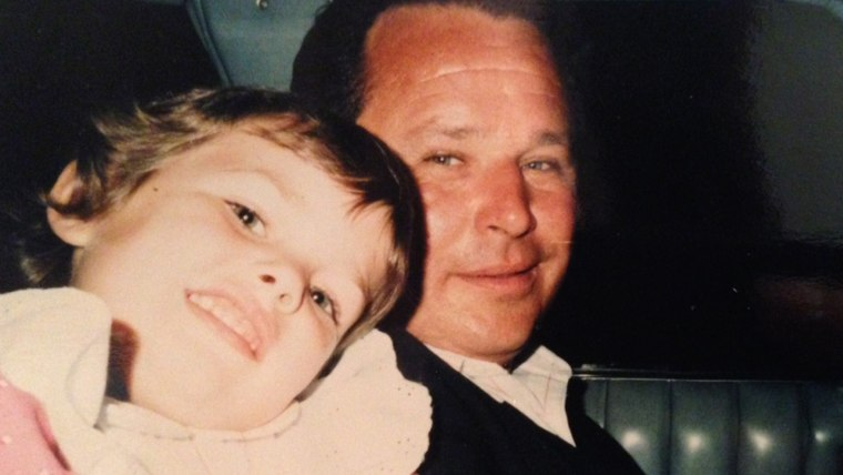 """""""I always got to ride in the front seat with my dad. This I believe was preschool graduation."""""""