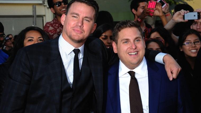 Image: Channing Tatum and Jonah Hill