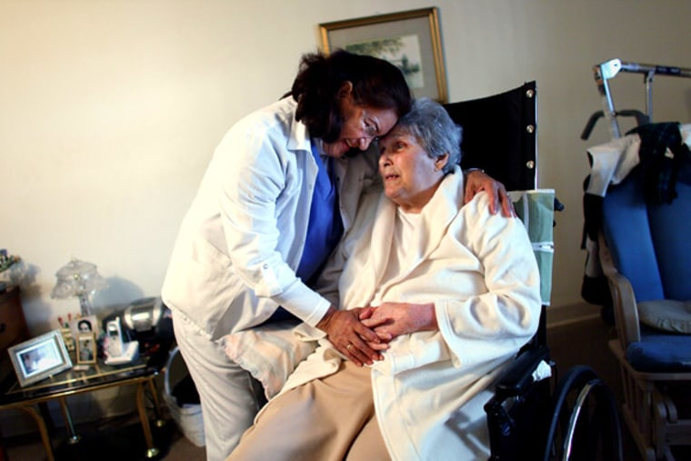 Home health care work is a growing field, and one that often appeals to workers over 50.