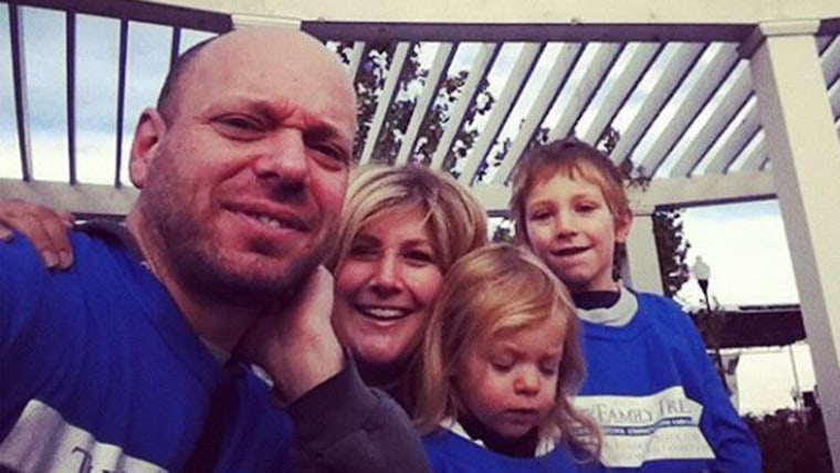 Oren, Beth and their two kids, Liam, who is now 6, and Madeline, who is now 4.
