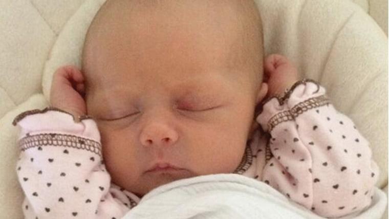 Image: Jenna Fischer's new baby girl, Harper Marie Kirk.