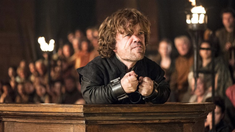 "Peter Dinklage as Tyrion Lannister on ""Game of Thrones"""