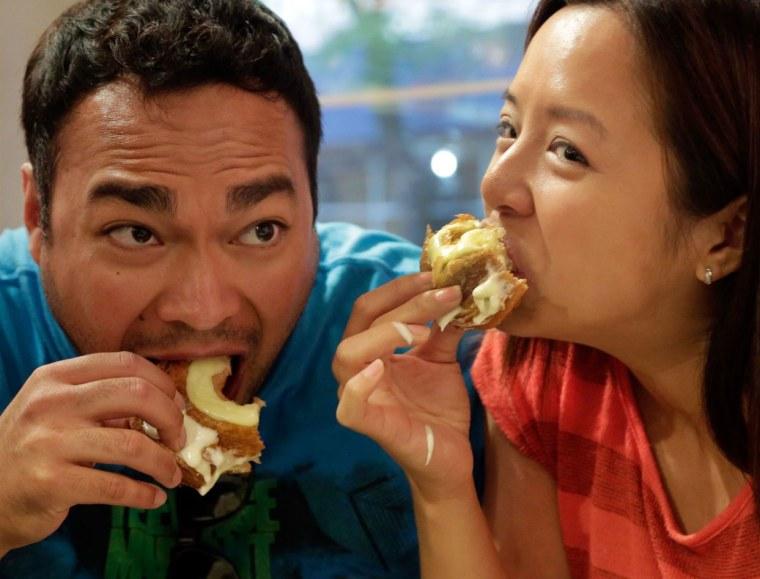 Cronut eaters