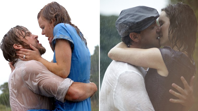 A couple's engagement photos, mirroring the movie 'The Notebook,' have gone viral once again.