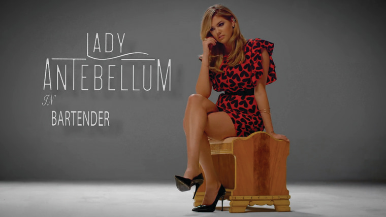 "Lady Antebellum ""Bartender"" video"
