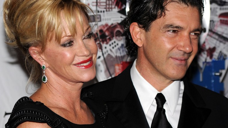 Image: Melanie Griffith and Antonio Banderas