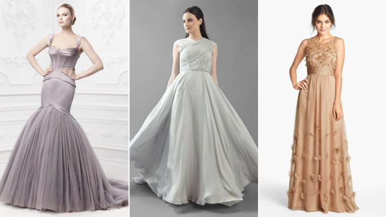 The Bride Wore Mauve Check Out New Wedding Gown Color Trends