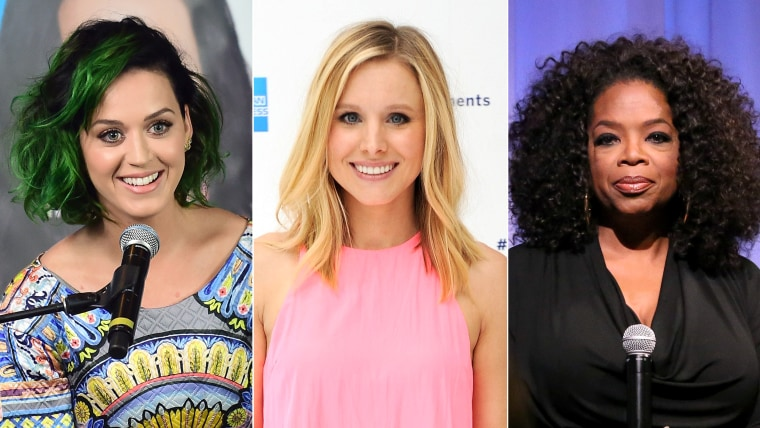 """Is it audiobooks' \""""golden age\""""? Pop star Katy Perry recently supplied her voice to B.J. Novak's \""""One More Thing,\"""" actress Kristen Bell narrated Rob Thomas' newest \""""Veronica Mars\"""" book, and Oprah Winfrey reads from her own \""""What I Know for Sure,\"""" due in September."""