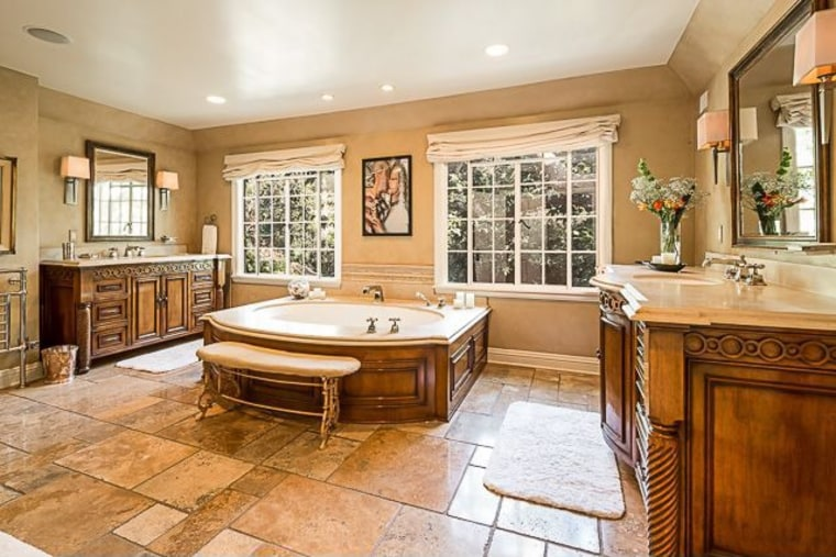 The home has been updated over the years and features a master suite.