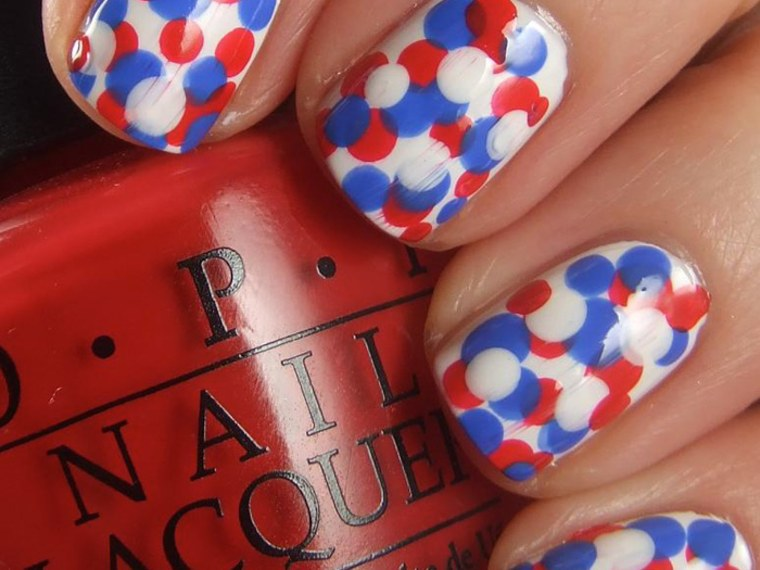 Red White And Awesome 4th Of July Nail Art Designs