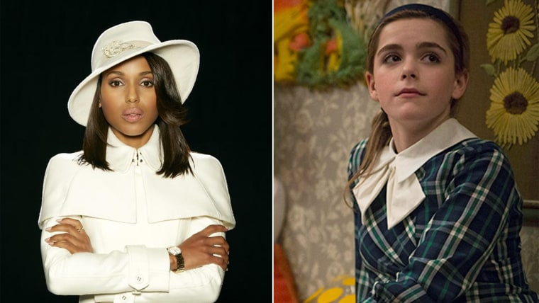 """Fashion we covet: Olivia Pope of \""""Scandal\"""" and Sally Draper of \""""Mad Men.\"""""""