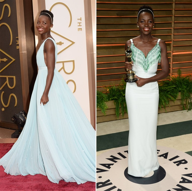 Thirteen stars who changed dresses for the Vanity Fair Oscars party