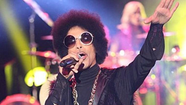 """Prince on """"The Arsenio Hall Show."""""""