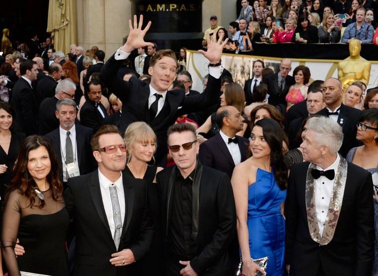 Image: Benedict Cumberbatch, U2