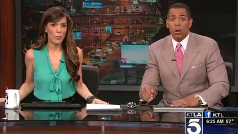 Image: KTLA news anchors