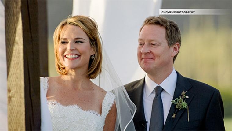 "The wedding, near her hometown in Tucson, Ariz., was ""beautiful,"" Savannah said."