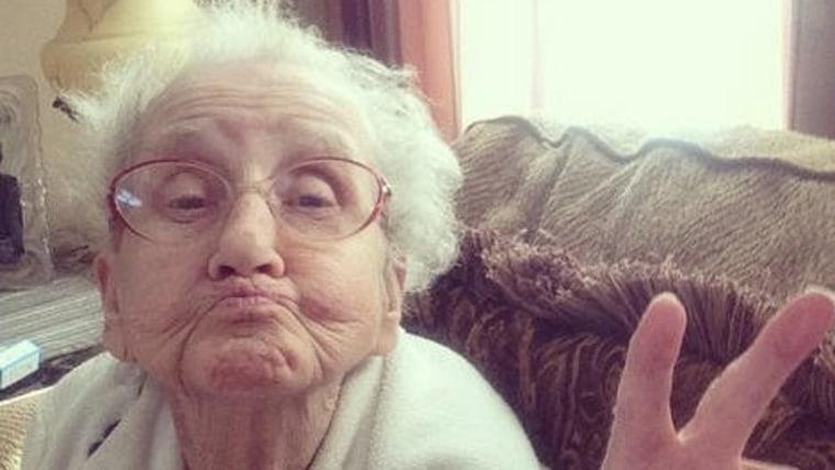 Grandma Betty, Instagram star.