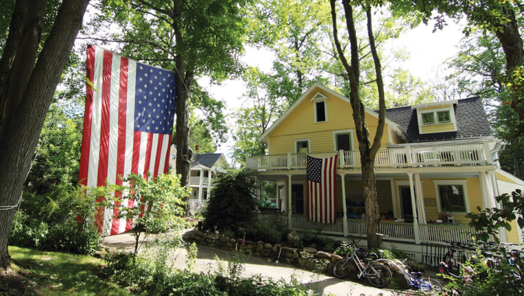 At the top of Smithsonian magazine's list of best small towns: Chautauqua, N.Y.