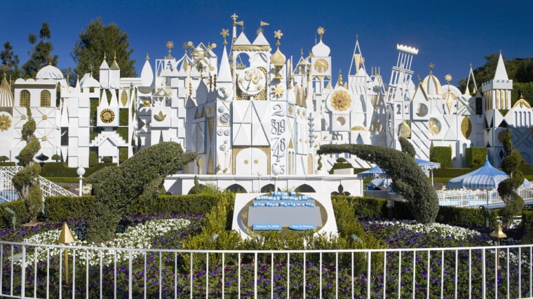 """Disney Parks is celebrating the 50th anniversary of its iconic \""""it's a small world\"""" attraction with a global celebration that benefits UNICEF."""