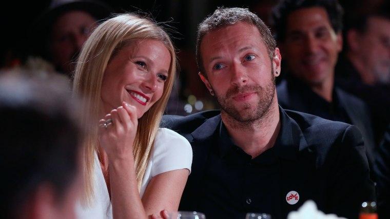 IMAGE: Gwyneth Paltrow and Chris Martin