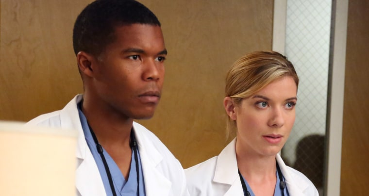 "Image: Shane and Leah on ""Grey's Anatomy"""