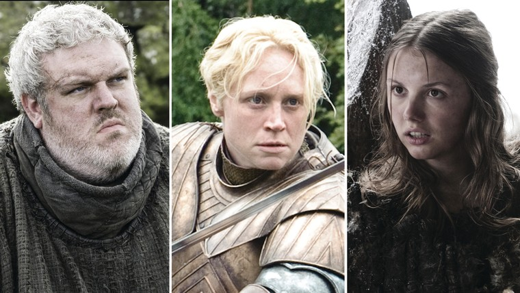 """Hodor, Brienne and Gilly on """"Game of Thrones."""""""