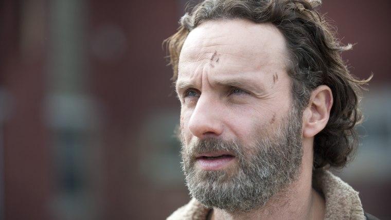 """Image: Rick on """"Walking Dead"""""""