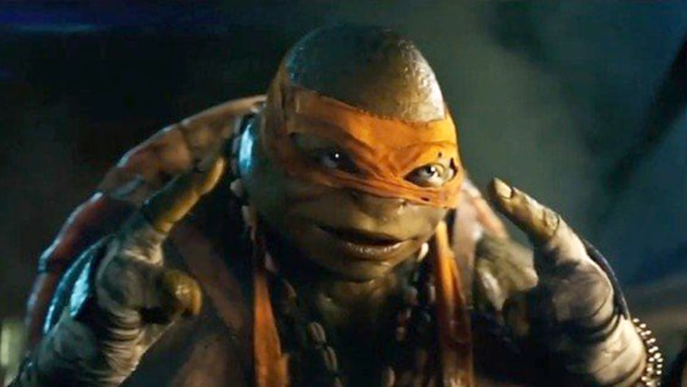 Michelangelo from Paramount Pictures' Teenage Mutant Ninja Turtles (2014)