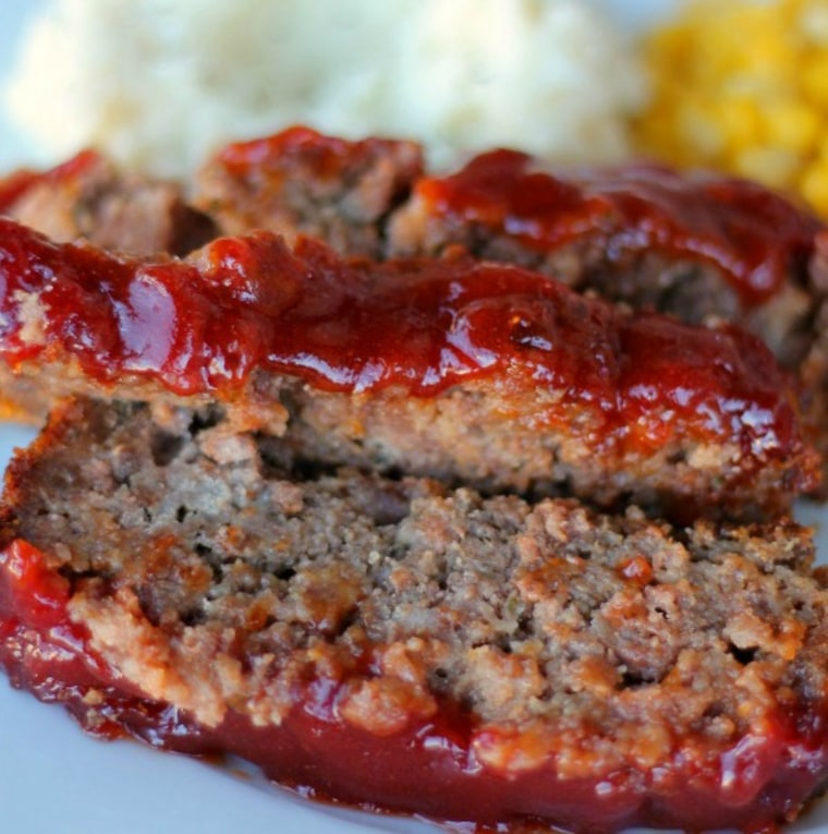 Sweet and tangy meatloaf