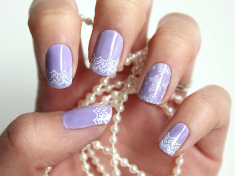Wedding Nails: Bridal Nail Art Designs - Wedding Nails: Bridal Nail Designs & Manicures