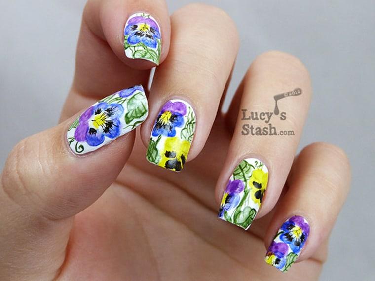 Floral Nail Art - Floral Nail Art: Nail Designs To DIY