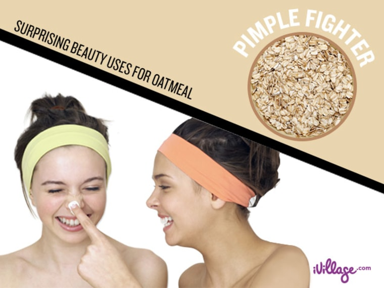 A zit-zapping face mask & other surprising beauty uses for oatmeal