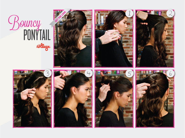 DIY Hairstyle - Bouncey Ponytail