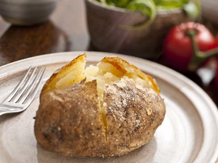 How To Microwave A Potato