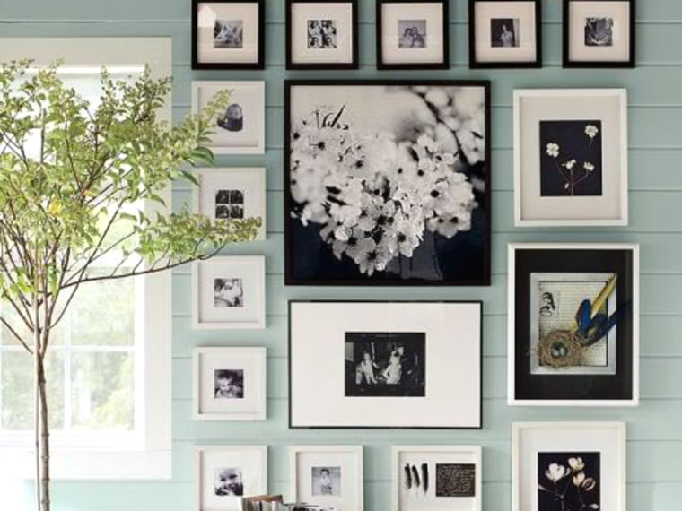 How to Hang a Photo Wall