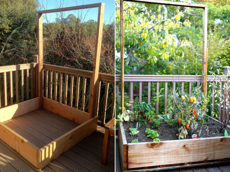 how to build a vegetable bin