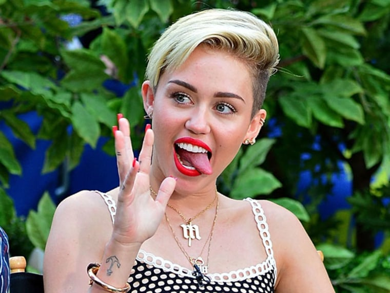"""WATCH: Miley Cyrus' """"We Can't Stop"""" Video Without Music Is a Nightmare"""
