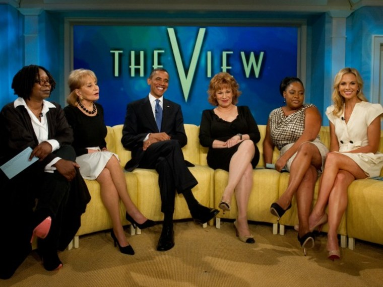 Is everybody leaving 'The View'?