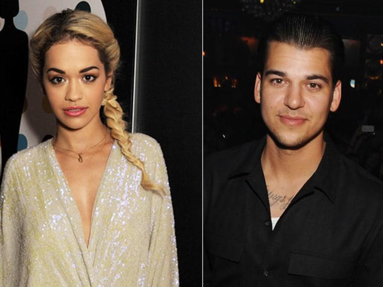 Rita Ora Says She was Never Rob Kardashian's Girlfriend